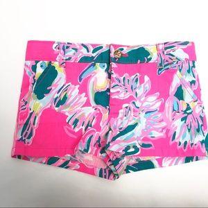 Lilly Pulitzer Mini Callahan Girls Shorts Size 6